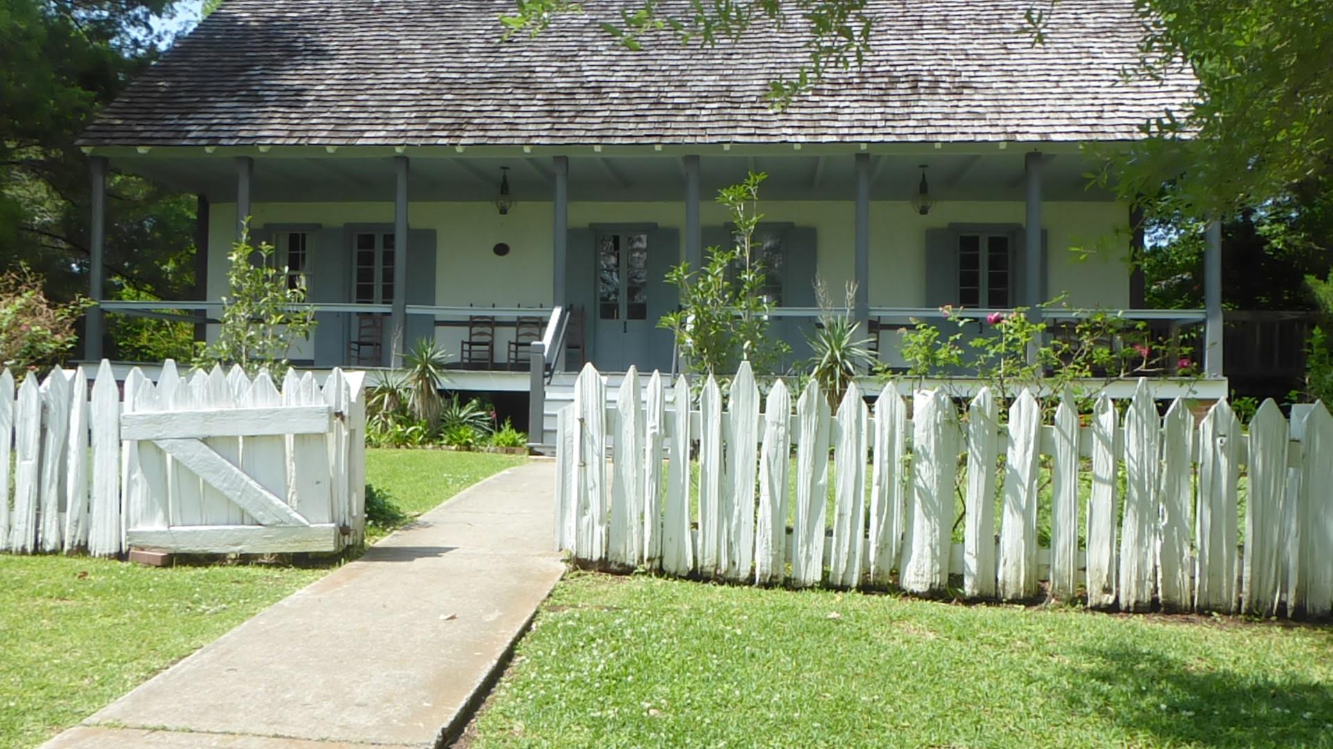 Vermillon village, maison du curé